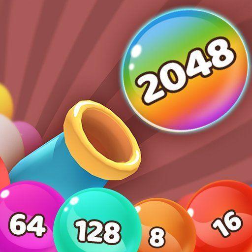 Bubble Merge 2048