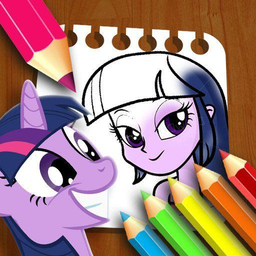 Equestria Girls Coloring Book