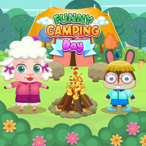 FUNNY CAMPING DAY