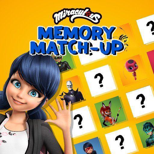 Miraculous Memory Match Up