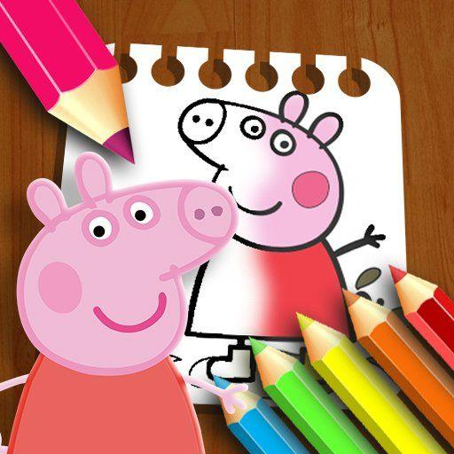 PeppaPig Coloring Book