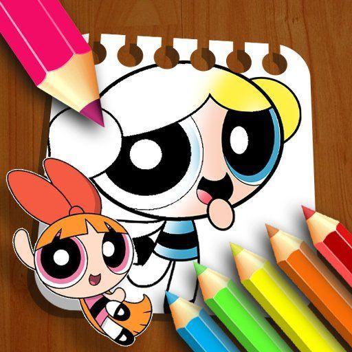 The Powerpuff Girls Coloring Book